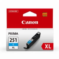 Canon Pixma 251CXL Ink Cartridge - Cyan