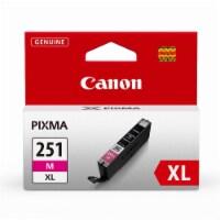 Canon Pixma 251MXL Ink Cartridge - Magenta