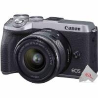 Canon Eos M6 Mark Ii Mirrorless Digital Camera With 15-45mm Lens Svr