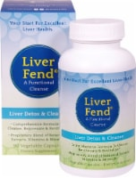Aerobic Life Liver Fend Liver Detox & Cleanse Vegetable Capsules