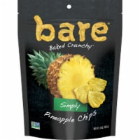 Bare® Baked Crunchy™ Gluten Free Simply Pineapple Chips - 1.6 oz
