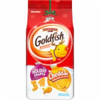 Goldfish Holiday Shapes Cheddar Baked Snack Crackers