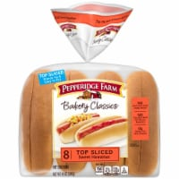Pepperidge Farm Bakery Classics Top Sliced Sweet Hawaiian Hot Dog Buns 8 Count
