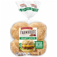 Pepperidge Farm Farmhouse Hearty White Buns 8 Count