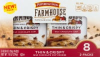 Pepperidge Farm Farmhouse Thin & Crispy Milk Chocolate Chip Cookies