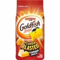 Goldfish Flavor Blasted Cheddar Jack'd Snack Crackers