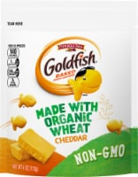 Goldfish Organic Wheat Cheddar Baked Snack Crackers