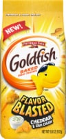 Goldfish Flavor Blasted Cheddar & Sour Cream Flavored Snack Crackers - 6.6 oz