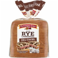 Pepperidge Farm Deli Swirl Rye & Pumpernickel Bread