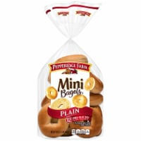 Pepperidge Farm Plain Mini Bagels