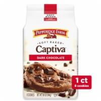 Pepperidge Farm Captiva Soft Baked Dark Chocolate Cookies - 8.6 oz