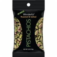 Wonderful® No Shells Roasted & Salted Pistachios - 2.5 oz
