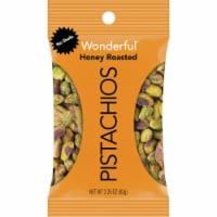 Wonderful No Shells Pistachios Honey-Roasted 2.25 Oz Bag 24/Carton | 1 Carton of: 24 - 2.25 Oz.
