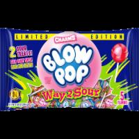 Charms Blow Pop Way2Sour Lollipops - 10.4 oz
