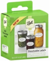 Ball® Dissolvable Labels - 60 Pack