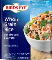 Birds Eye Steamfresh Whole Grain Rice with Broccoli & Carrots