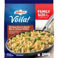 Birds Eye Voila! Family Size Chicken Bacon Ranch Mac and Cheese Skillet Frozen Meal - 42 oz