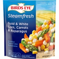 Birds Eye Steamfresh Mixtures Gold & White Corn Carrots & Asparagus