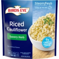Birds Eye Steamfresh Savory Herb Riced Cauliflower