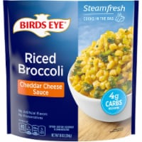 Birds Eye Steamfresh Veggie Made Cheddar Cheese Sauce Riced Broccoli