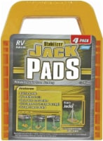 Camco Stabilizer Jack Pads - 4 pk - Yellow