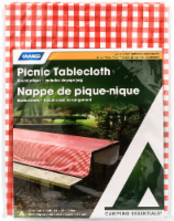 Camco Picnic Tablecloth - Red/White