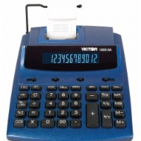 Victor Desktop Calculator,Ink Roller,12 Digits  1225-3A - 1