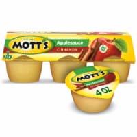 Mott's Cinnamon Applesauce Cups 6 Count