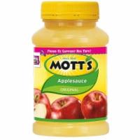 Motts Original Applesauce, 24 Ounce -- 12 per case. - 12-24 OUNCE