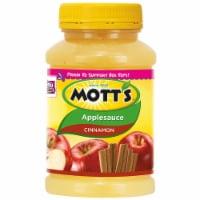 Motts Cinnamon Apple Sauce, 24 Ounce Pet Jar -- 12 per case. - 12-24 OUNCE