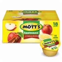 Mott's Cinnamon Applesauce Cups
