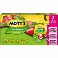 Motts Original Applesauce (4 Pack)