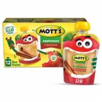 Mott's Cinnamon Applesauce Pouches