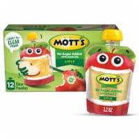 Mott's Unsweetened Applesauce Pouches 12 Count
