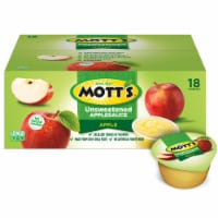 Mott's Unsweetened Applesauce Cups