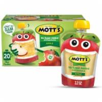 Mott's No Sugar Added Applesauce Pouches