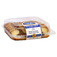 Hill & Valley Sugar Free Sliced Cinnamon Swirl Creme Cake