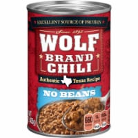Wolf Authentic Texas Recipe No Beans Chili