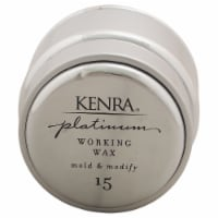 Platinum working Wax #15 by Kenra for Women - 1.4 oz Wax - 1.4 oz