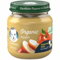 Gerber Organic 1st Foods Apple Baby Food