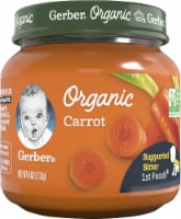 Gerber Organic 1st Foods Carrot Stage 1 Baby Food