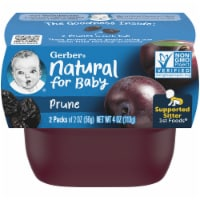 Gerber 1st Foods Prune Baby Food 2 Count