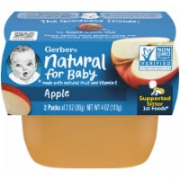 Gerber 1st Foods Apple Baby Food 2 Count