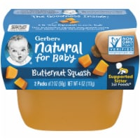 Gerber Butternut Squash Stage 1 Baby Food 2 Count