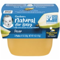 Gerber Pear Stage 1 Baby Food 2 Count