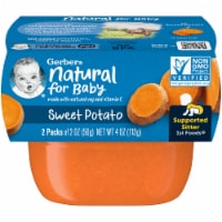 Gerber Sweet Potato Stage 1 Baby Food 2 Count