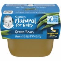 Gerber Green Bean Stage 1 Baby Food 2 Count