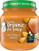 Gerber 1st Foods Organic Butternut Squash Baby Food - 4 oz