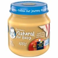 Gerber® Natural 2nd Foods Apple Baby Food