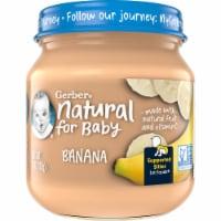 Gerber® Natural 1st Foods Banana Baby Food